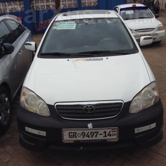 used 2008 toyota corolla car for sale on carxus automotive news nigeria ghana used cars. Black Bedroom Furniture Sets. Home Design Ideas