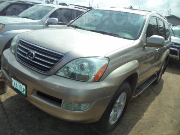 used 2005 lexus gx 470 car for sale on carxus automotive news nigeria ghana used cars. Black Bedroom Furniture Sets. Home Design Ideas